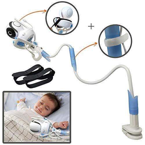 Ÿolle | support universel pour moniteur pour bébé avec sangles | souple Baby Camera Support...