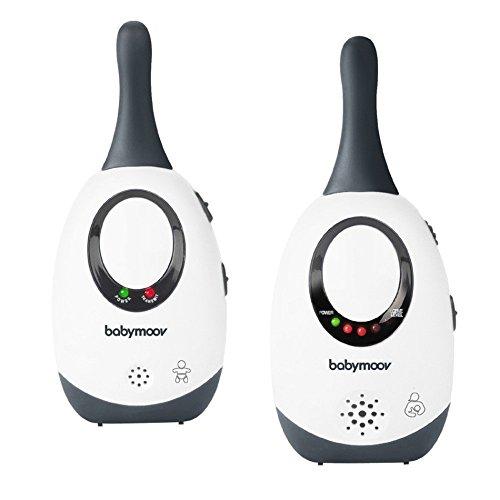 Babymoov Simply Care Babyphone Audio avec Fonction VOX, Double Alarme et 2 Adaptateurs,...