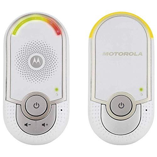 Motorola MBP 8 - Babyphone audio DECT avec prise murale plug 'n go - éco mode et veilleuse -...