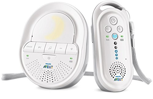 Philips Avent SCD506/01 Babyphone DECT Blanc, Smart Eco Mode